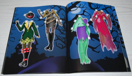 Ghoulish girls paperdolls 6
