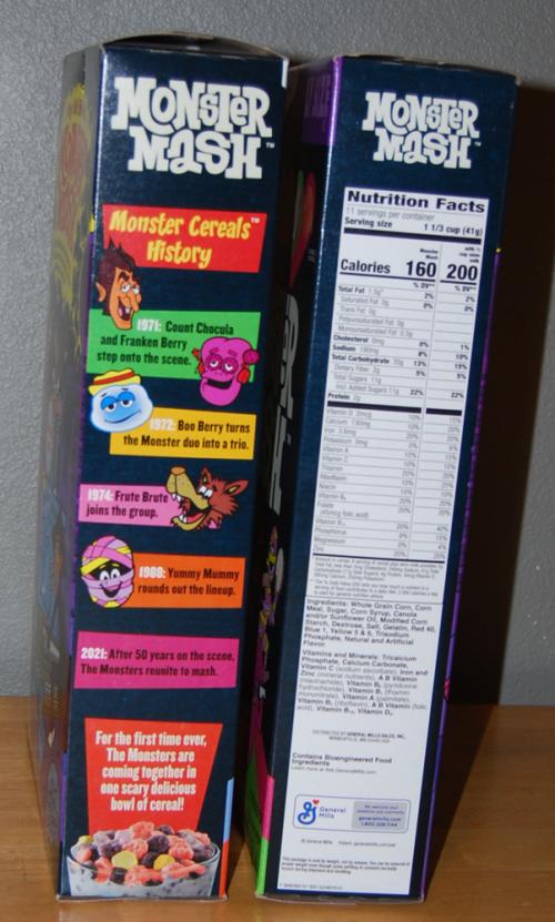 Monster mash cereal x