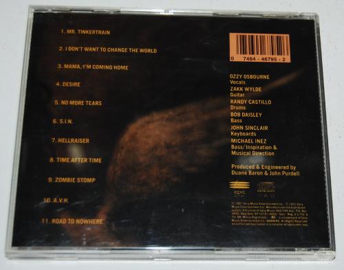 Ozzy cds 1 x