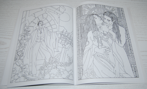 Dover vampires coloring book 5