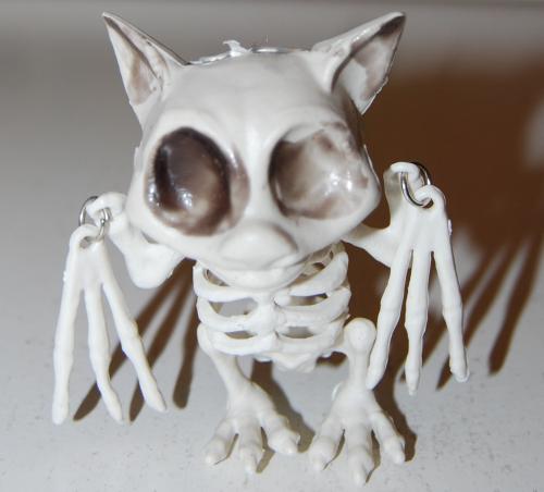 Halloween michaels bat skeleton 2021