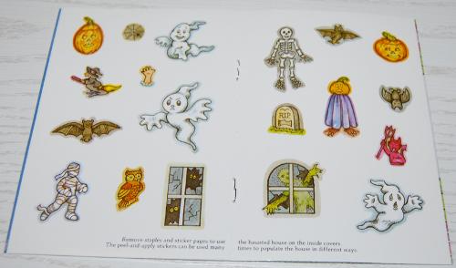 Halloween mini activity book dover 2