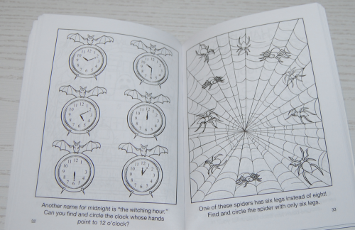 Halloween mini activity book dover 9