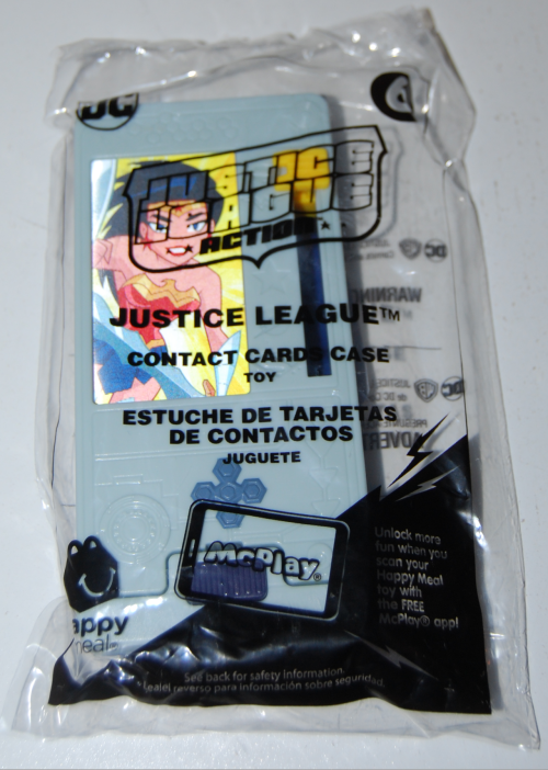 Happy meal toy justice league