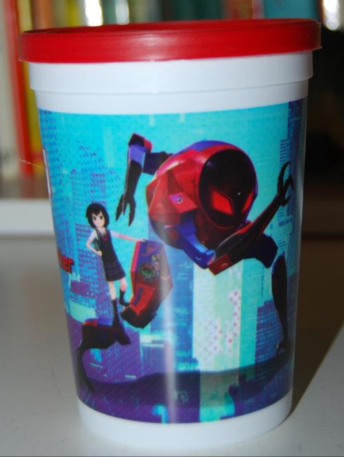 Carls jr spiderman x