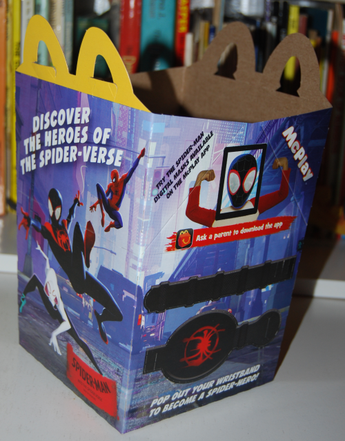 Spidey happy meal