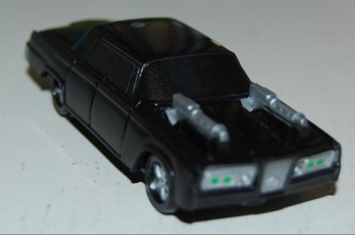 Carls jr green hornet car x