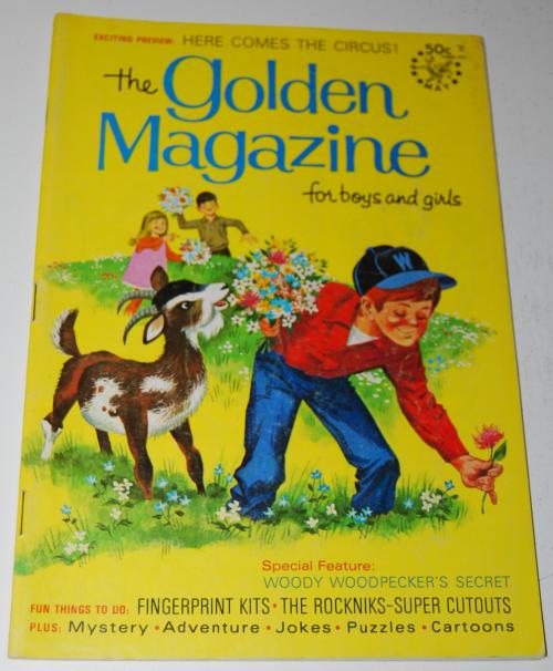 Golden magazine may 1969