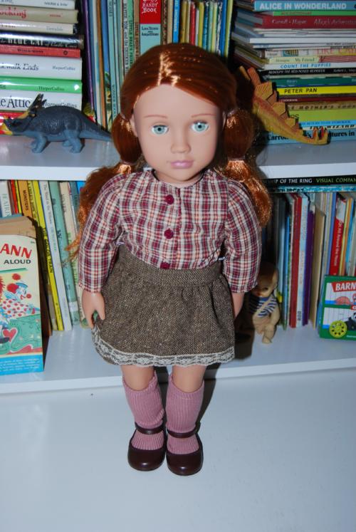 Our gen school girl doll