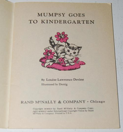 Mumpsy goes to kindergarden 1