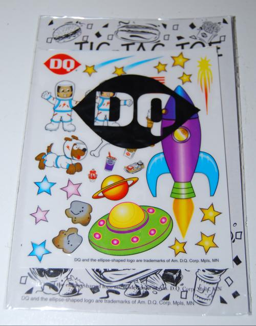 Dq kids stickers