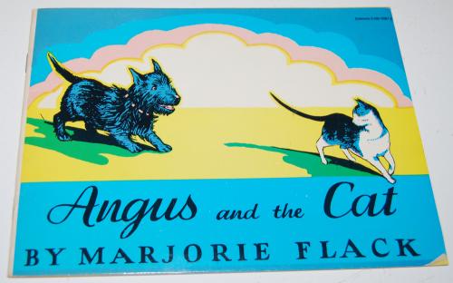 Angus & the cat