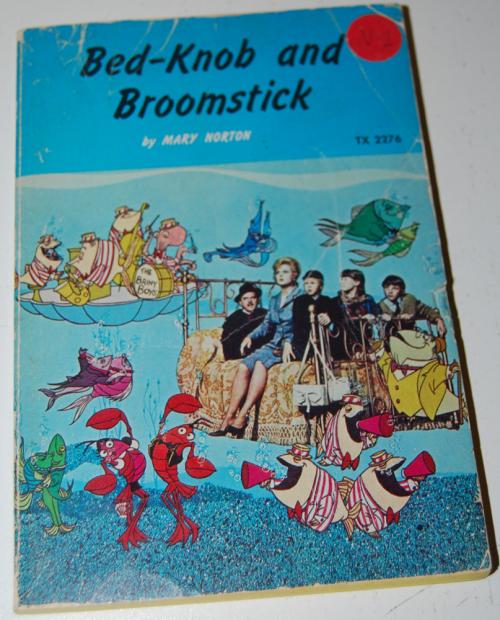 Bed knob & broomstick