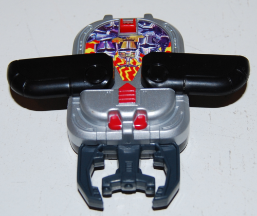 Happy meal toy battle borgs 3