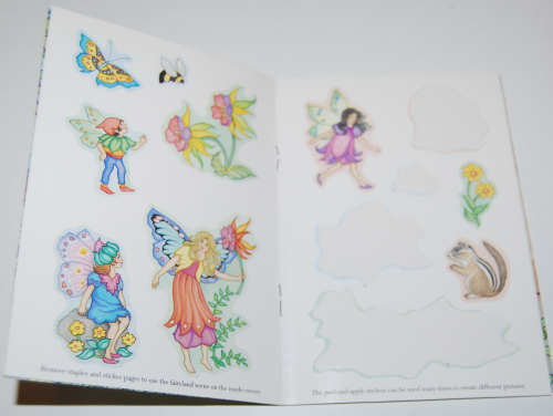 Fairyland sticker activity book 1