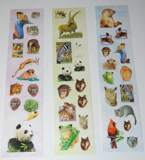 Animal stickers 2