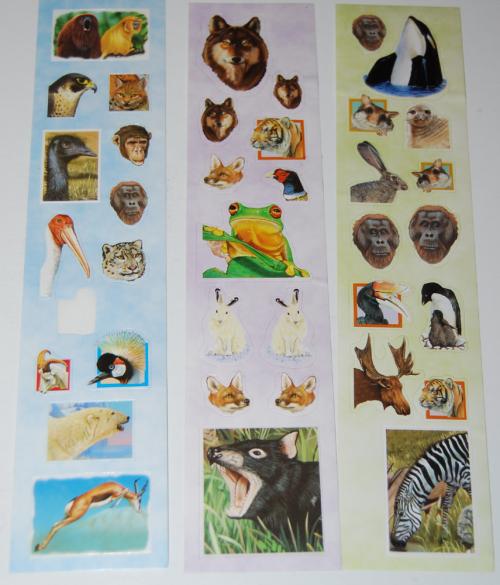 Animal stickers emu