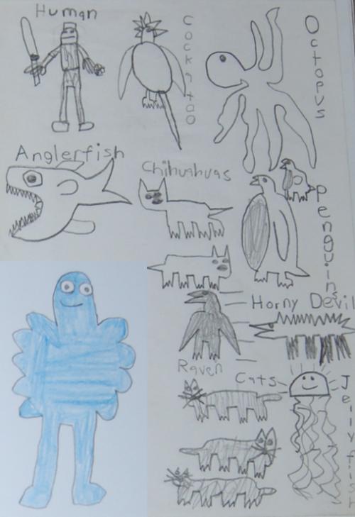 Dan's characters