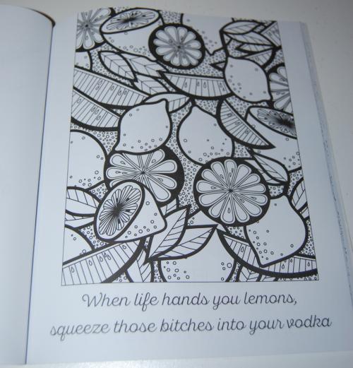 Swearing coloring books john t 16