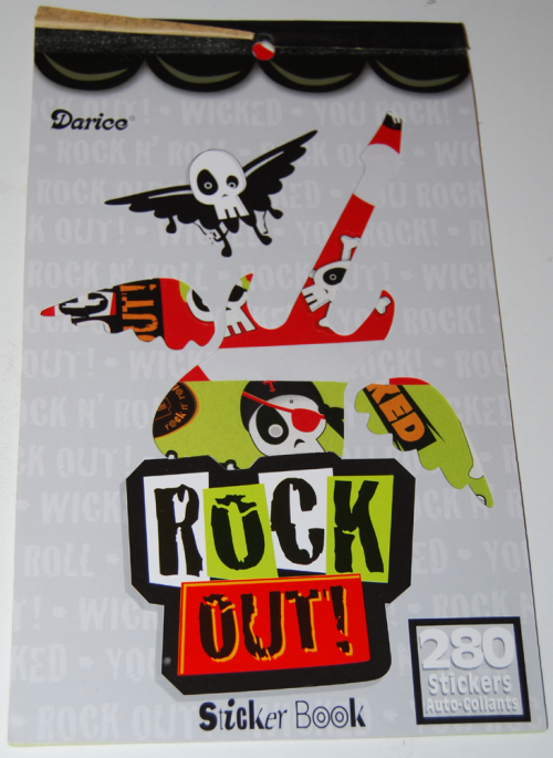 Rock out stickers
