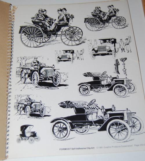 Victorian days clip art stickers 5