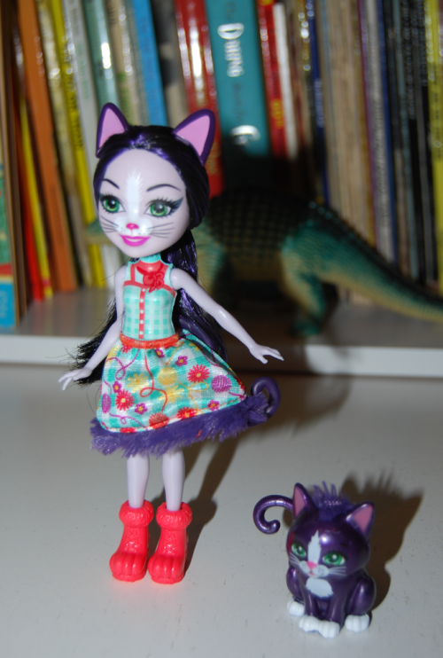 Enchantimal doll & kitty
