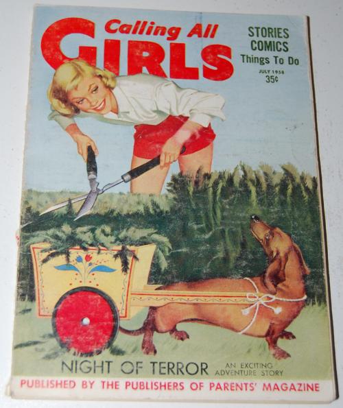 Calling all girls july 1958