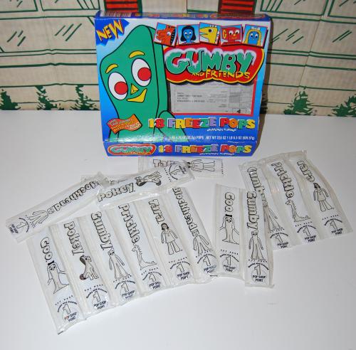 Gumby freeze pops fff