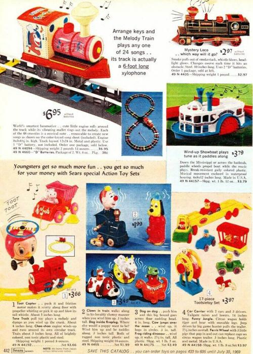 Vintage toy ads