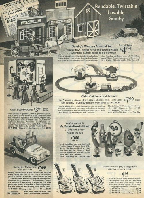 Vintage gumby ads xxx