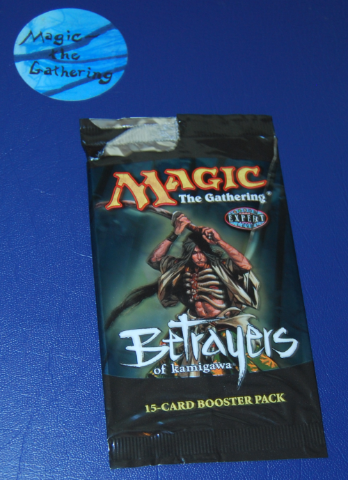 Magic the gathering card pack