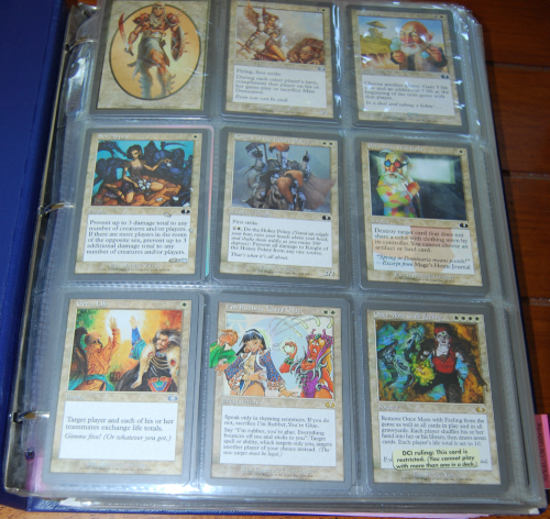 Magic the gathering cards 40