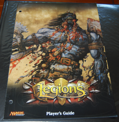 Magic the gathering top deck legions guide