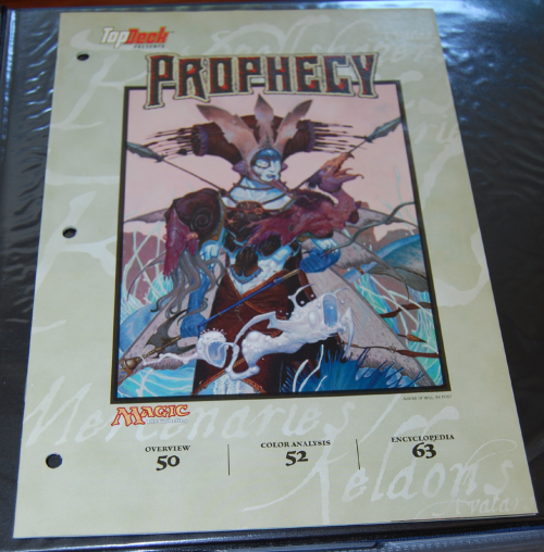 Magic the gathering top deck prophecy