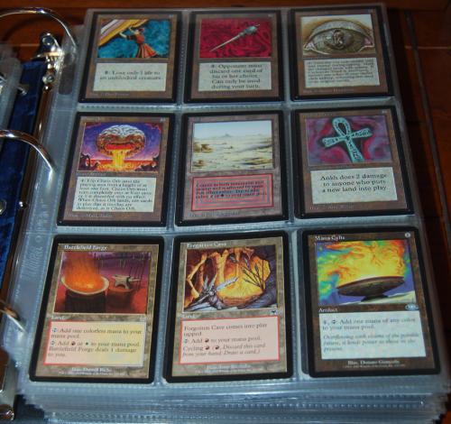 Magic the gathering rares 1