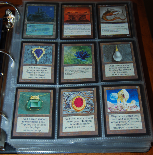 Magic the gathering power 9 cards