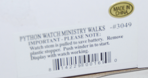 Ministry of silly walks watch x
