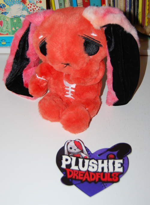 Mysterious anxiety rabbit plushie dreadful x
