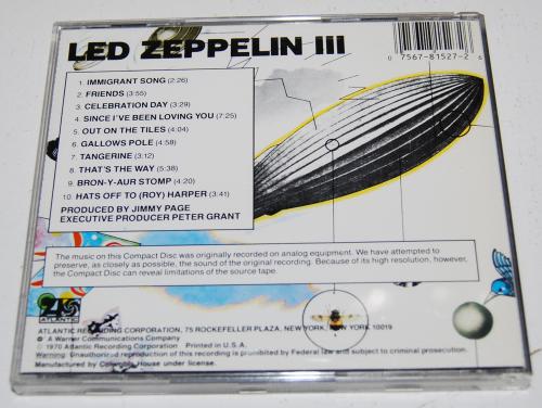 Led zeppelin cds 3x