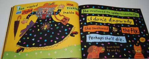 There was an old lady who swallowed a fly 6
