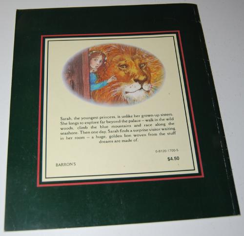 Sarah's lion book