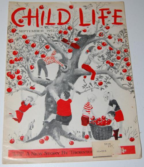 Child life mag september 1952