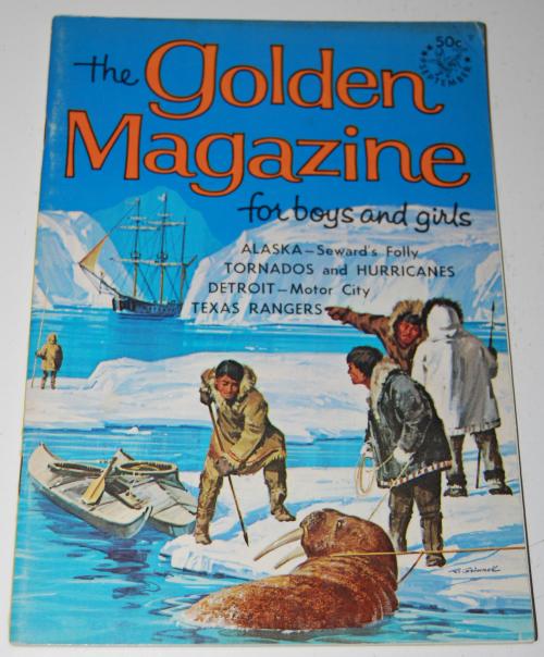 Golden magazine sept 1967