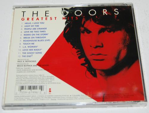 The doors greatest hits cd x