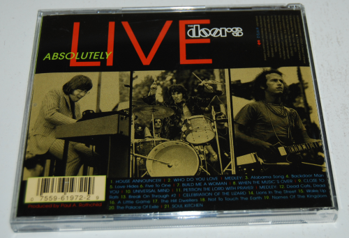 The doors absolutely live cd x
