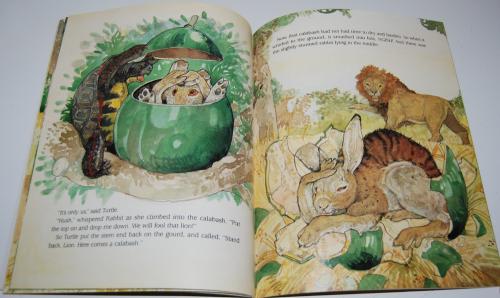 Rabbit makes a monkey of lion 7