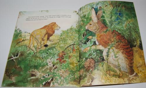 Rabbit makes a monkey of lion 10