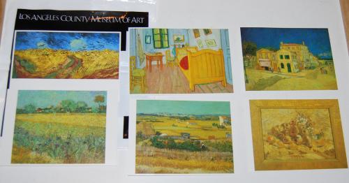 Postcards lacma van gogh