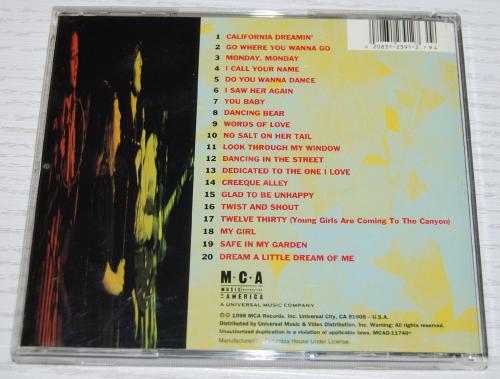 The mamas & the papas cd x