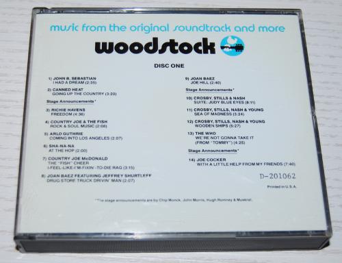 Woodstock cds